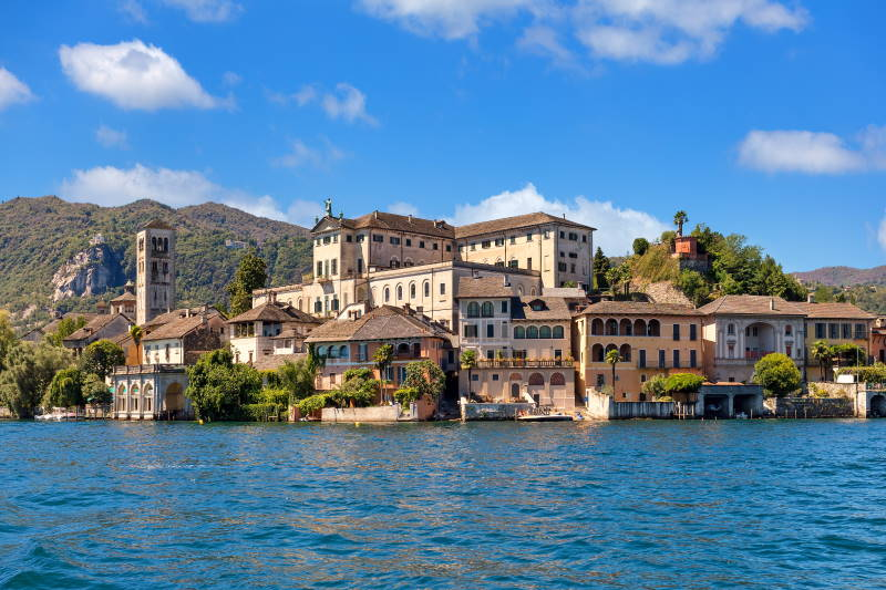 Insel Isola San Giulio