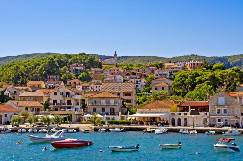 Jelsa, Kroatien
