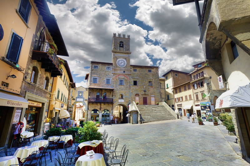 Cortona, Toskana