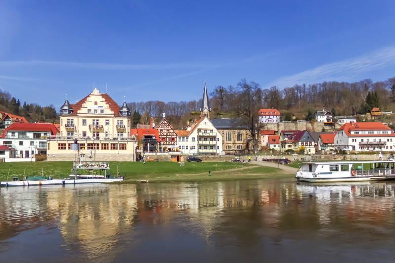 Wehlen an der Elbe, Sachsen