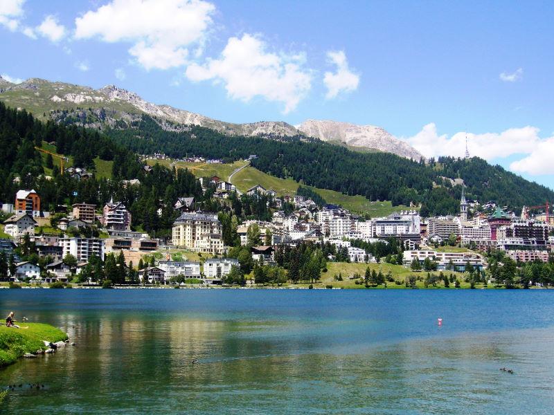 Urlaub in Sankt Moritz